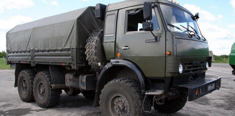 При помощи полиграфа найден похищенный в воинской части автомобиль Камаз.
